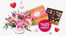 Sevdikleriniz için ÇiçekMarket ve Godiva'da %25 indirim fırsatı!