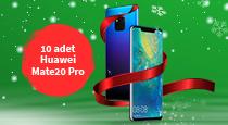 Bu yıl hediyeniz Huawei Mate 20 Pro!