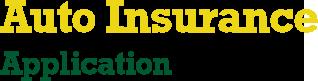 Auto Insurance Application