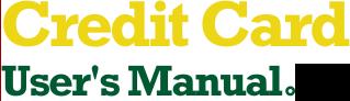 Credit Card User's Manual