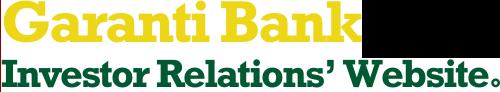 Garanti Bank Investor Relations' Website