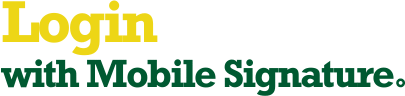 Login with Mobile Signature