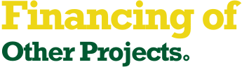 Financing of Other Projects