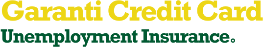 Garanti Credit Card Unemployment Insurance
