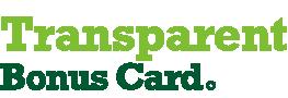 Transparent Bonus Card