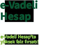 e-Vadeli Hesap