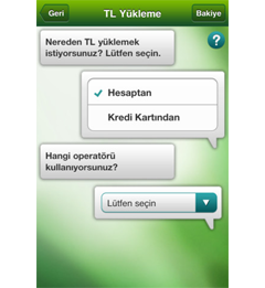 Garanti CepBank iPhone Uygulaması